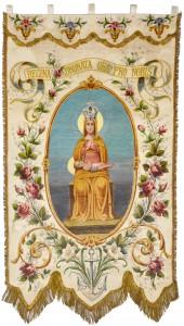 Antico stendardo della Compagnia della Madonna della Stra'