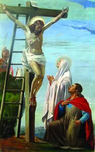 La crocifissione di Gesù Cristo
